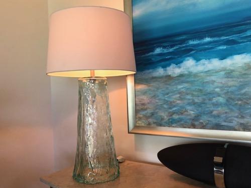 Glass lamp - EC$350
